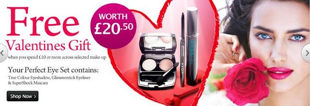 Avon Shop UK Valentines Gift Offer