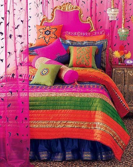 Glamorous Bohemian Bedroom