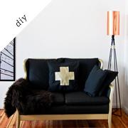 Painted sofa diy | Fun.kyti.me