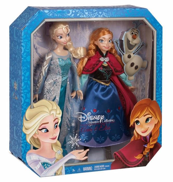 JUGUETES - DISNEY Signature Collection   Anna & Elsa | Frozen | Pack Muñecas - Dolls | Colección   Toys | Producto Oficial Princesas Disney 2015 | Mattel CKL63 | A partir de 3 años