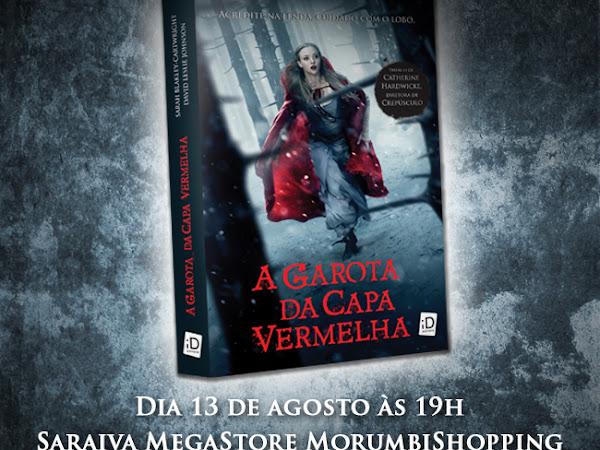 Editora iD e Saraiva convidam para noite de autógrafos com Sarah Blankley-Cartwright, de A Garota da Capa Vermelha em São Paulo