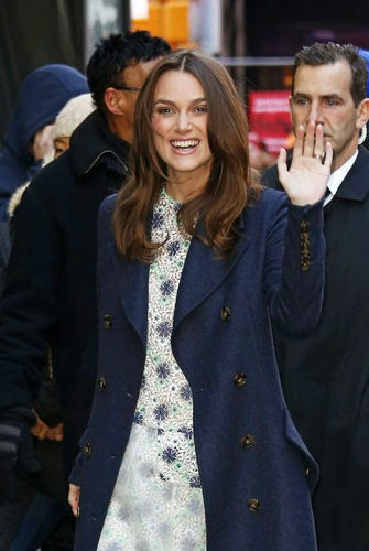 Keira Knightley looks like Duchess Kate