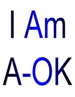 I Am A-OK.
