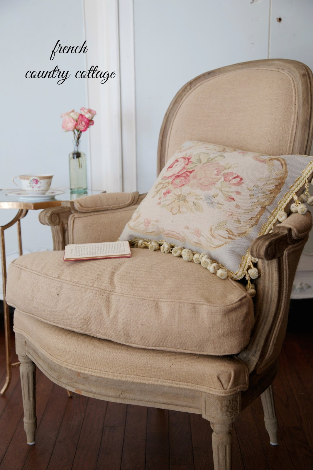 & A new French chair - FRENCH COUNTRY COTTAGE