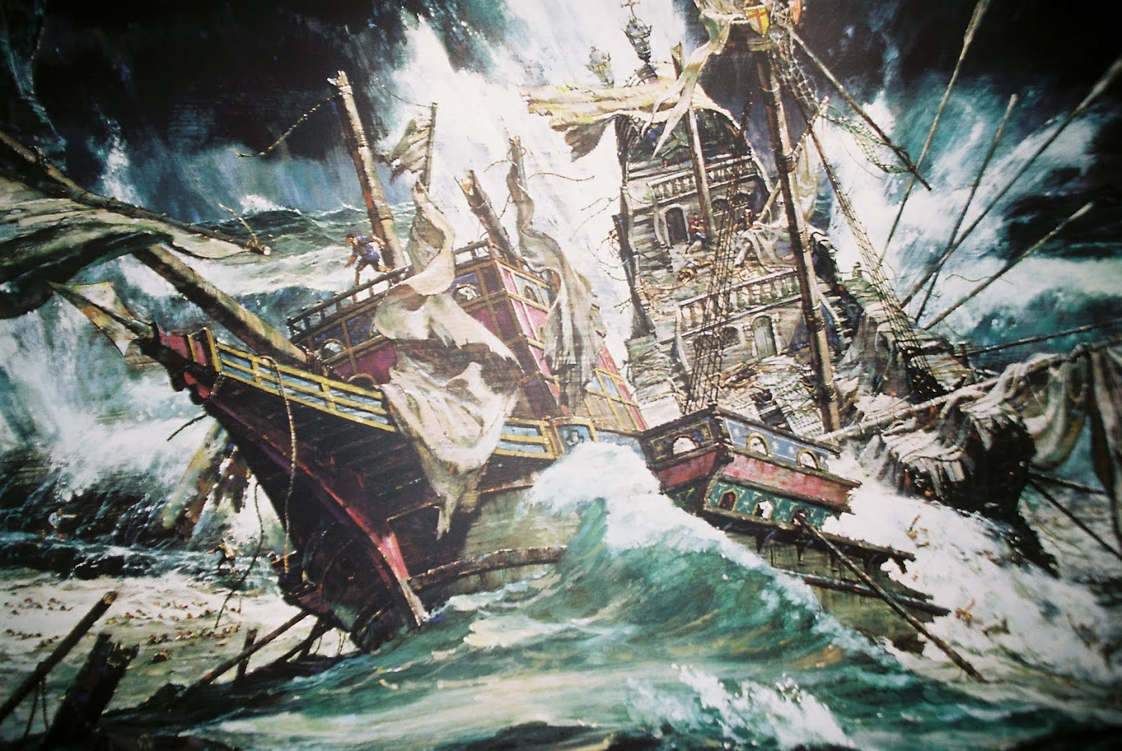 graphic firing table battles long ago armada  half the armada were wrecked and thousands of spaniards died perhaps the ugliest part of that story is that most of the crews that survived the storms and