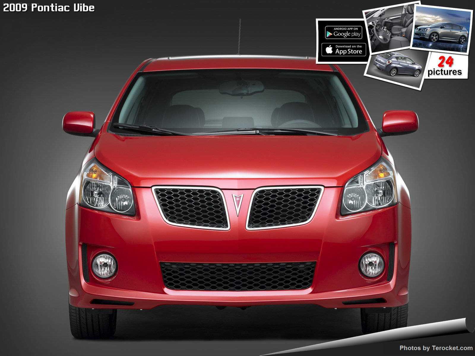 Hình ảnh xe ô tô Pontiac Vibe 2009 & nội ngoại thất