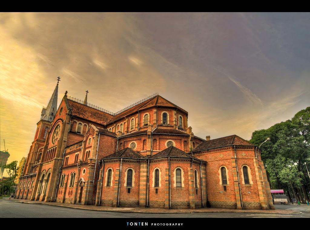 Saigon Notre-Dame Cathedral, Vietnam
