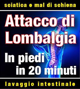 Attacco di lombalgia