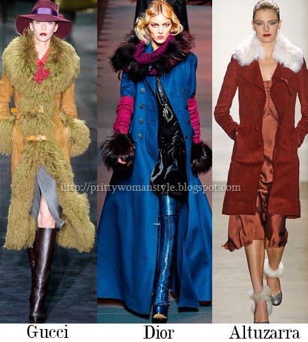 Палта с кожени яки и маншети