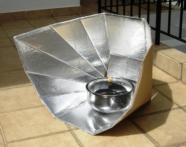 Construye un horno solar, sencillo y barato - VeoVerde