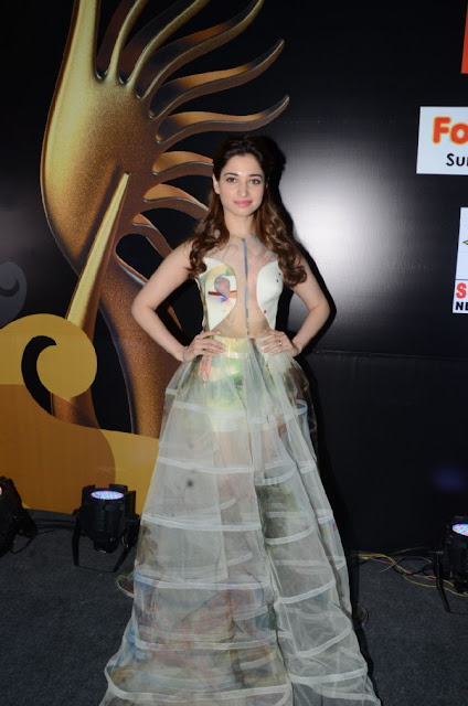Tamanna Bhatia in Transparent Fashion