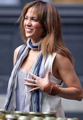 Jennifer Lopez Leather Bracelet