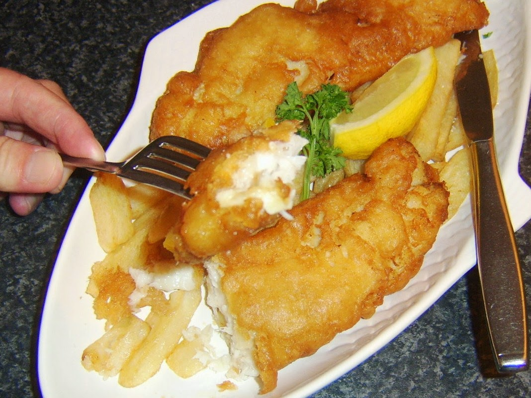 What should i have for dinner tonight for Beer battered fish and chips
