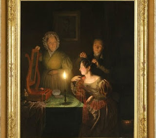 Image: Before the Ball, 1835, by Petrus Van Schendel