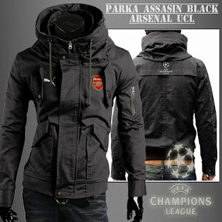 Jaket Parka Arsenal