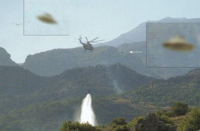 Η φωτιά στην Κρήτη και τα UFO που πετούσαν