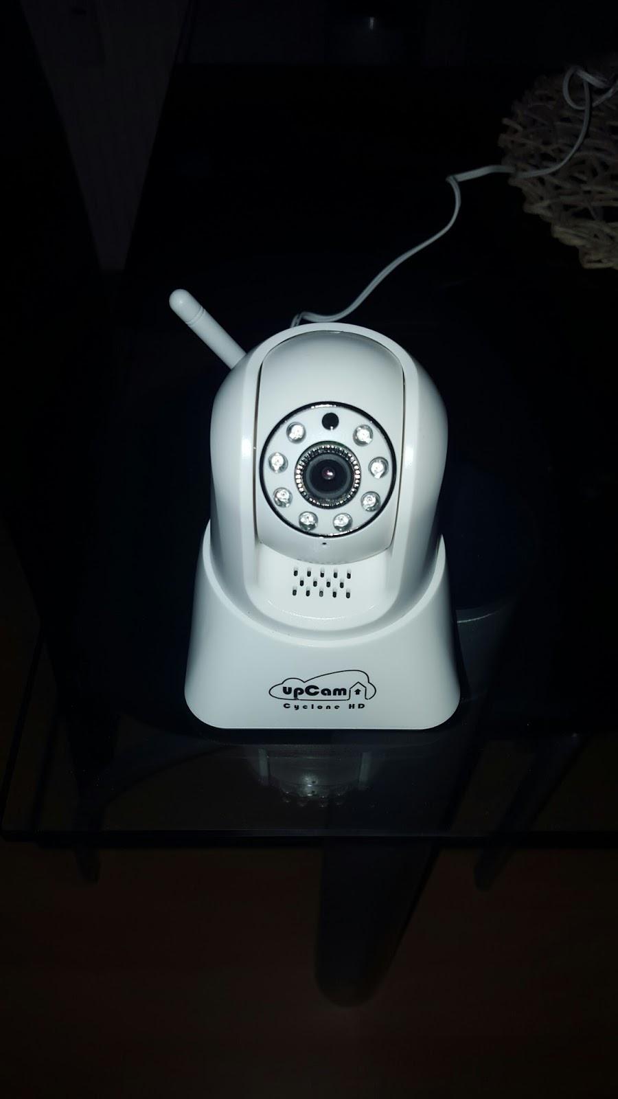 produkttest upcam ip kamera lisa s produkttest welt. Black Bedroom Furniture Sets. Home Design Ideas