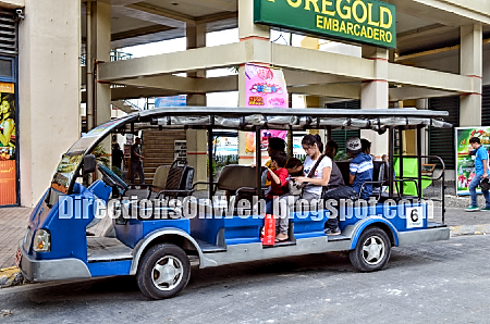 e-jeepney free shuttle from and to embarcadero de legazpi city