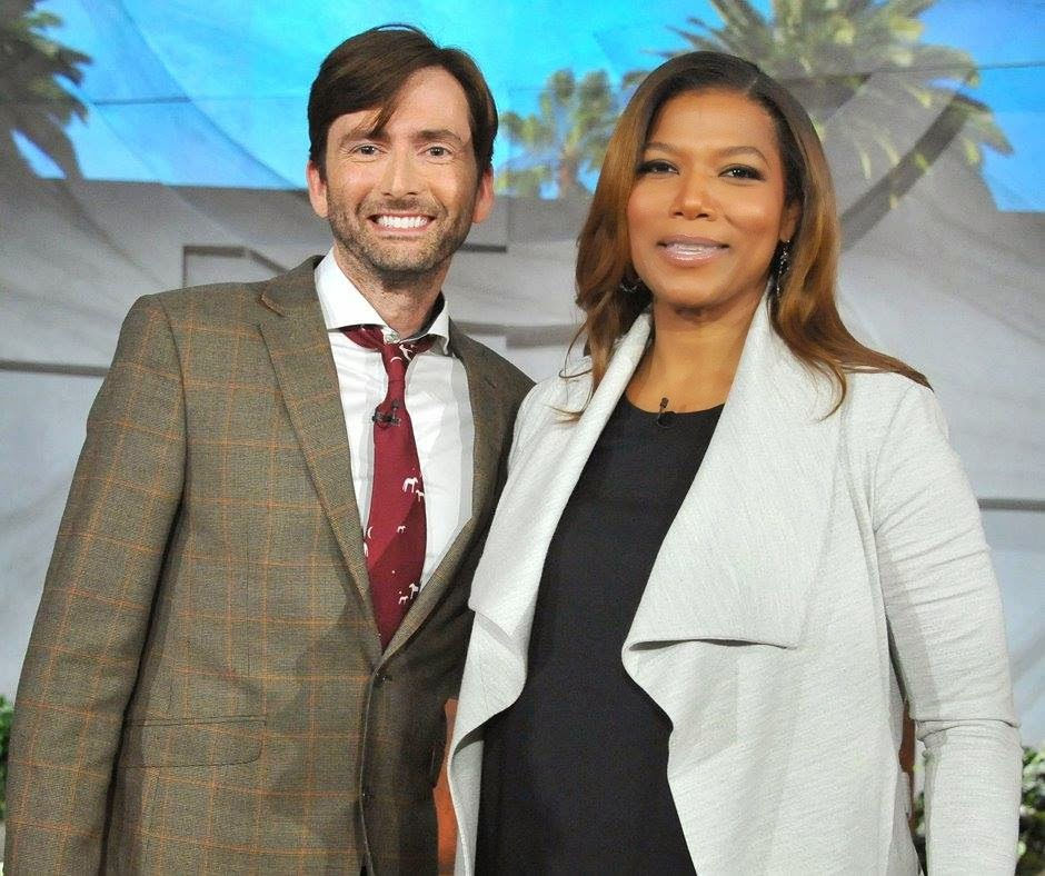 David Tennant - The Queen Latifah Show