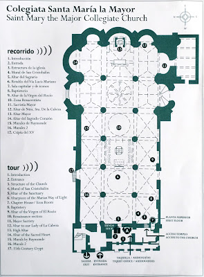 Colegiata Santa María la Mayor layout