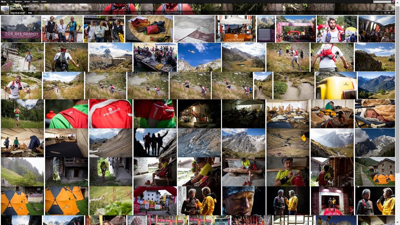 ALCUNE FOTO DEL TOR DES GEANTS 2014 DI FERRINO OUTDOOR