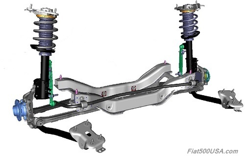 Fiat 500X Rear Suspension