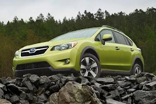 2015 New Hybrid Subaru XV Crosstrek Series front view
