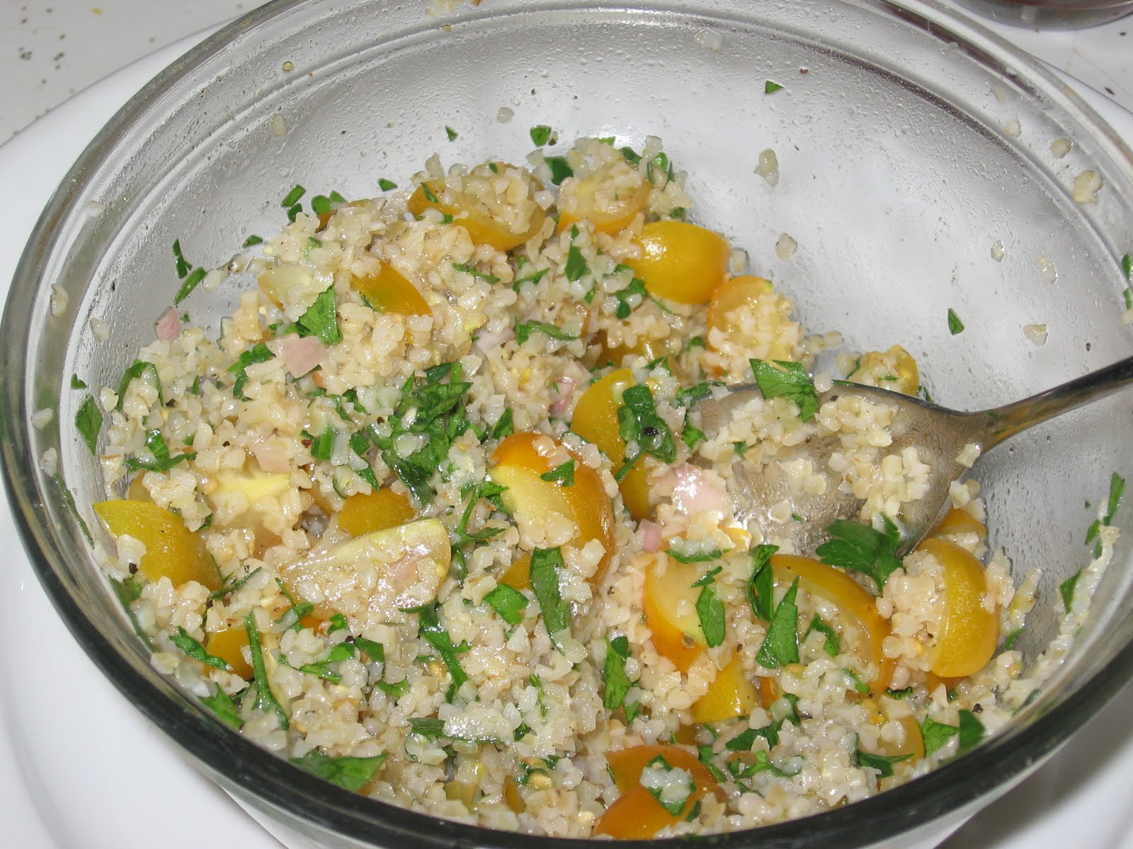The Errant Cook: Mediterranean Grain Salad