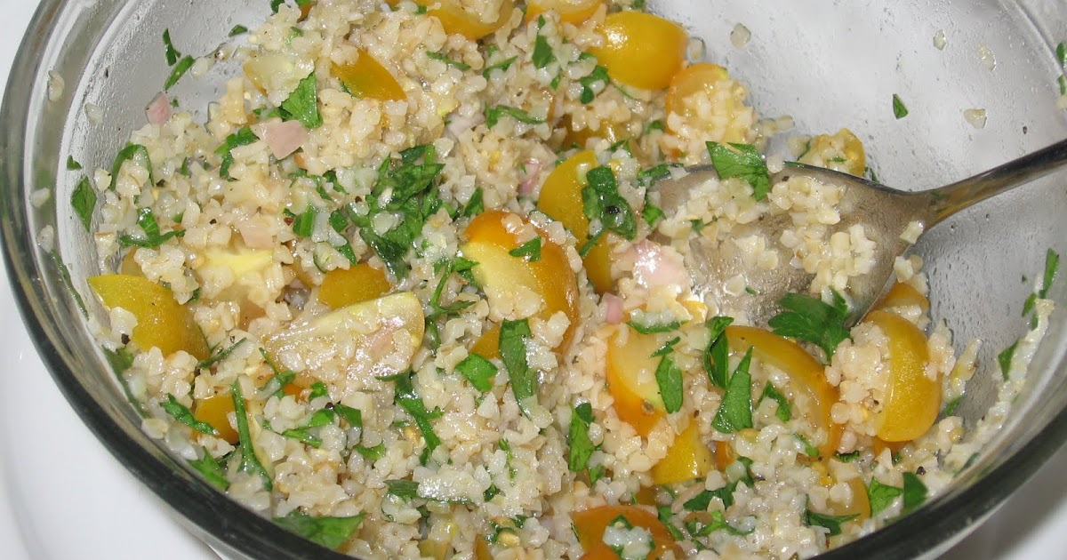 The Errant Cook: Mediterranean Grain Salad