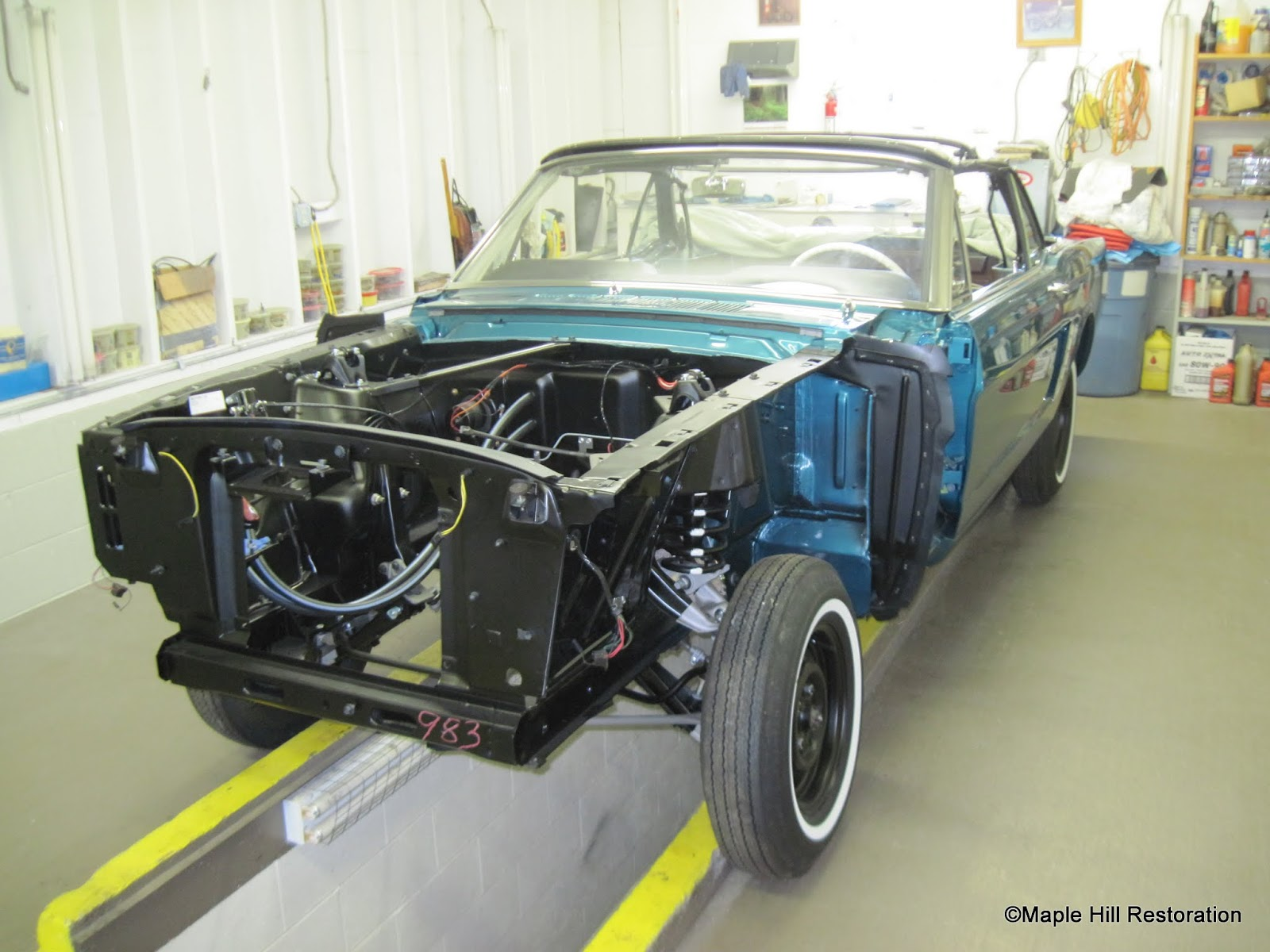 Just the details 1965 mustang restoration