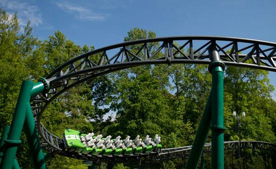 Tourism Verbolten Roller Coaster