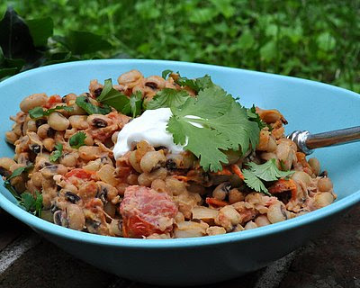 Warm Black-eyed Pea Salad
