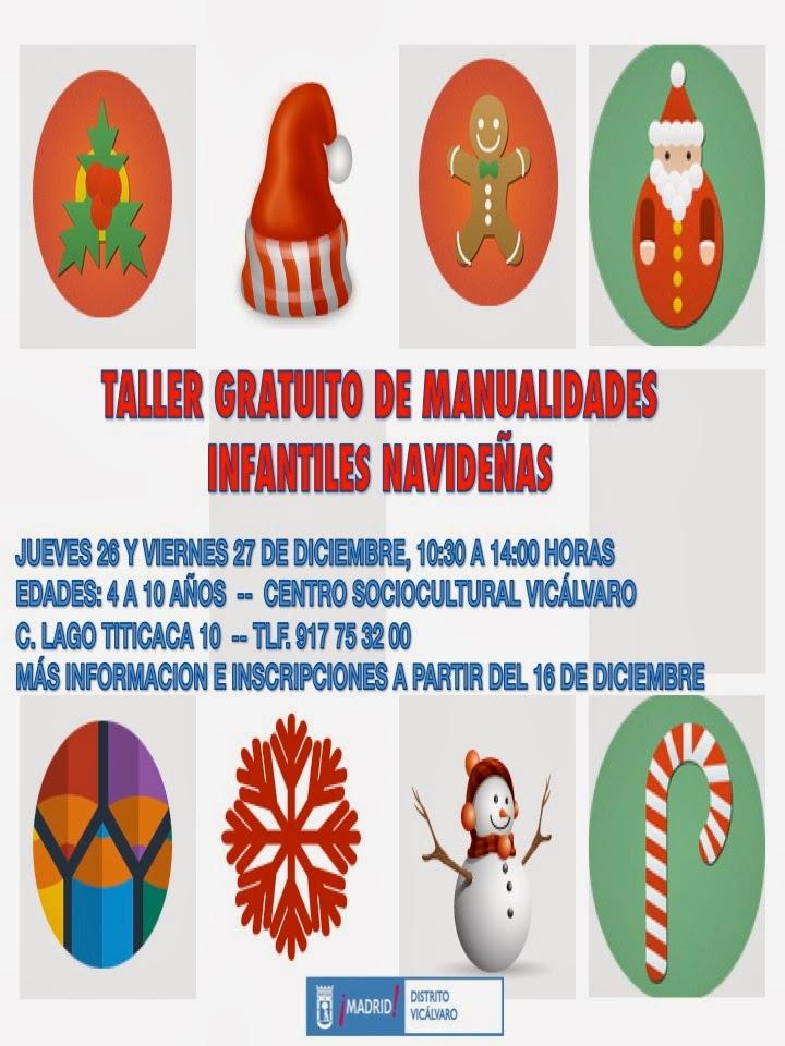Navidad en vic lvaro 2013 14 taller gratuito de - Manualidades navidenas para ninos pequenos ...