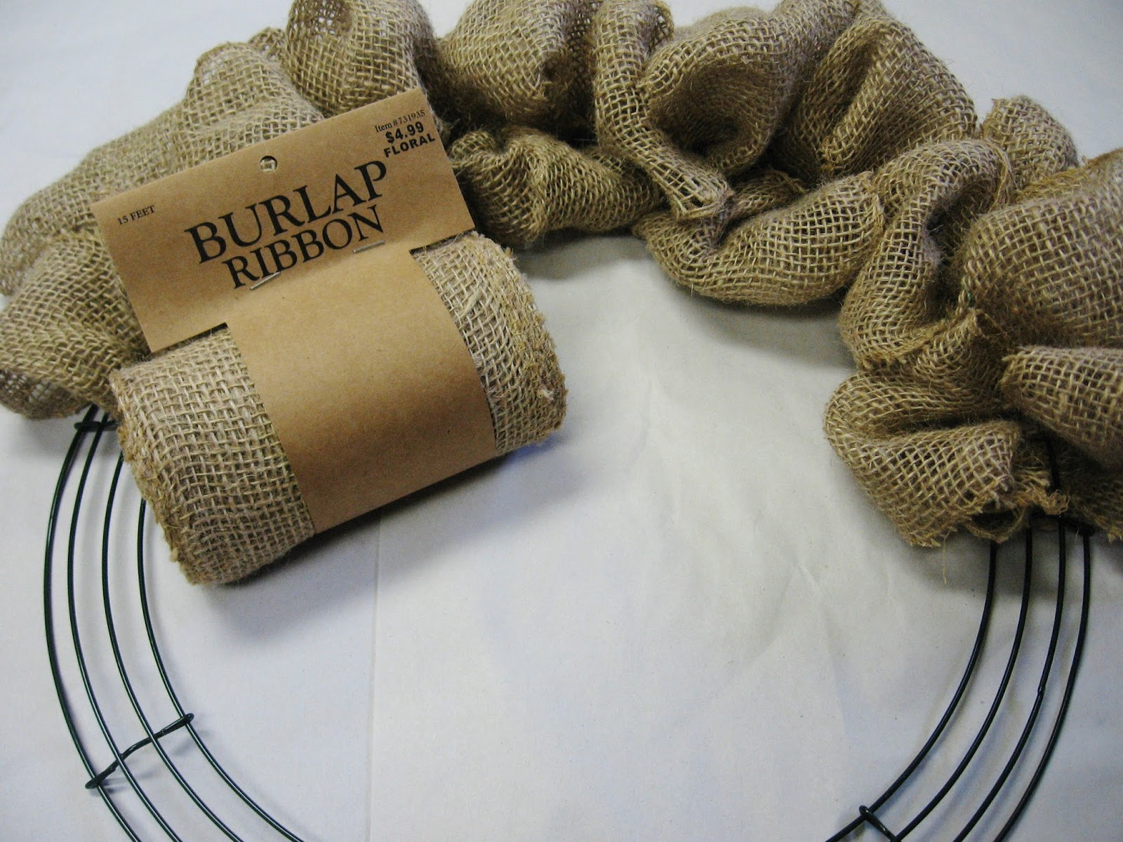 Hudson valley etsy new york fall craft tutorial a for Crafts made with burlap