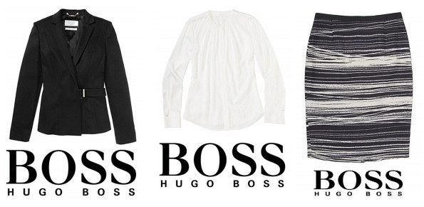 Queen Letizia's HUGO BOSS Cegina Cashmere Coat, HUGO BOSS Seiden Blouse and Vapina Skirt
