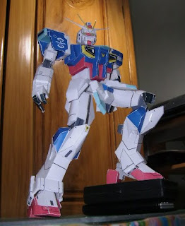 Force Impulse Gundam Papercraft