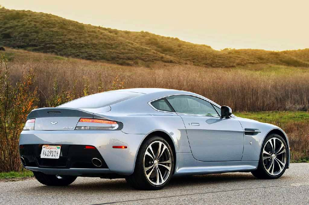 Aston Martin V12 Vantage Rear Side
