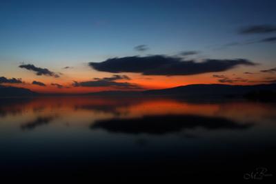 İznik Gölü Gün Batımı