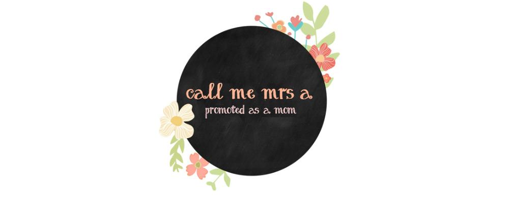 Call Me Mrs. A