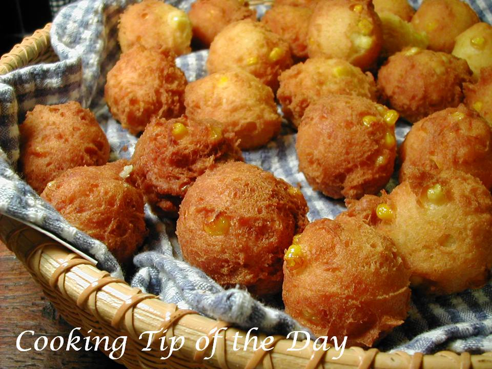 for corn fritters is one from my mother she would make corn fritters ...