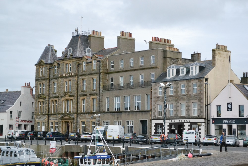 kirkwall harbour hotel orkney
