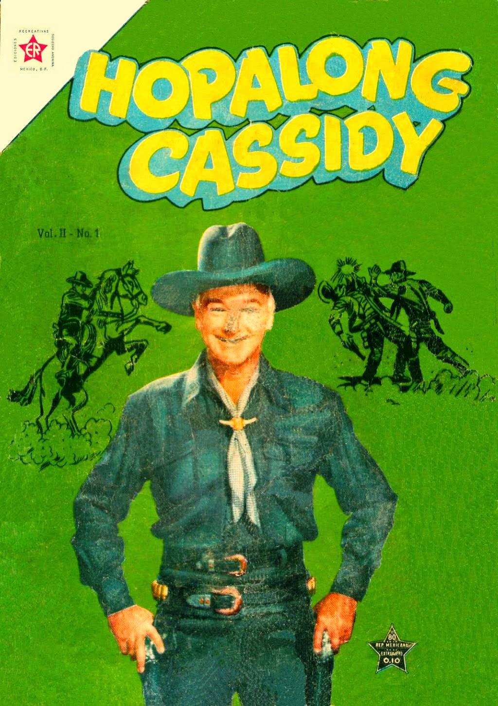 HOPALONG CASSIDY Nº 001 1954