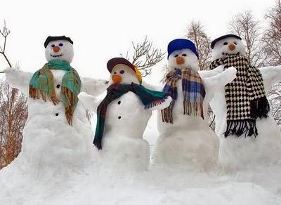 Αστείοι χιονάνθρωποι-3