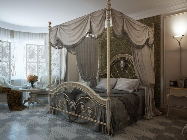 Keep it fancy luxurious bedroom ideas for Sophisticated feminine bedroom designs