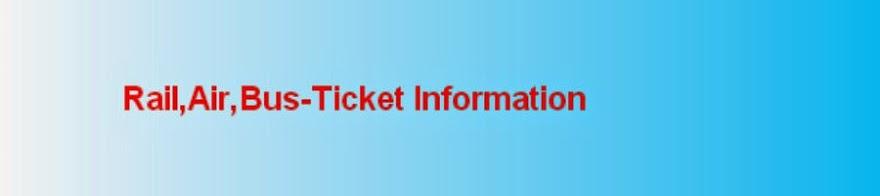 Rail Reservation Information