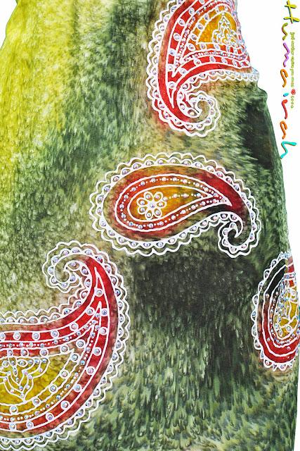 batik sutera terengganu  8