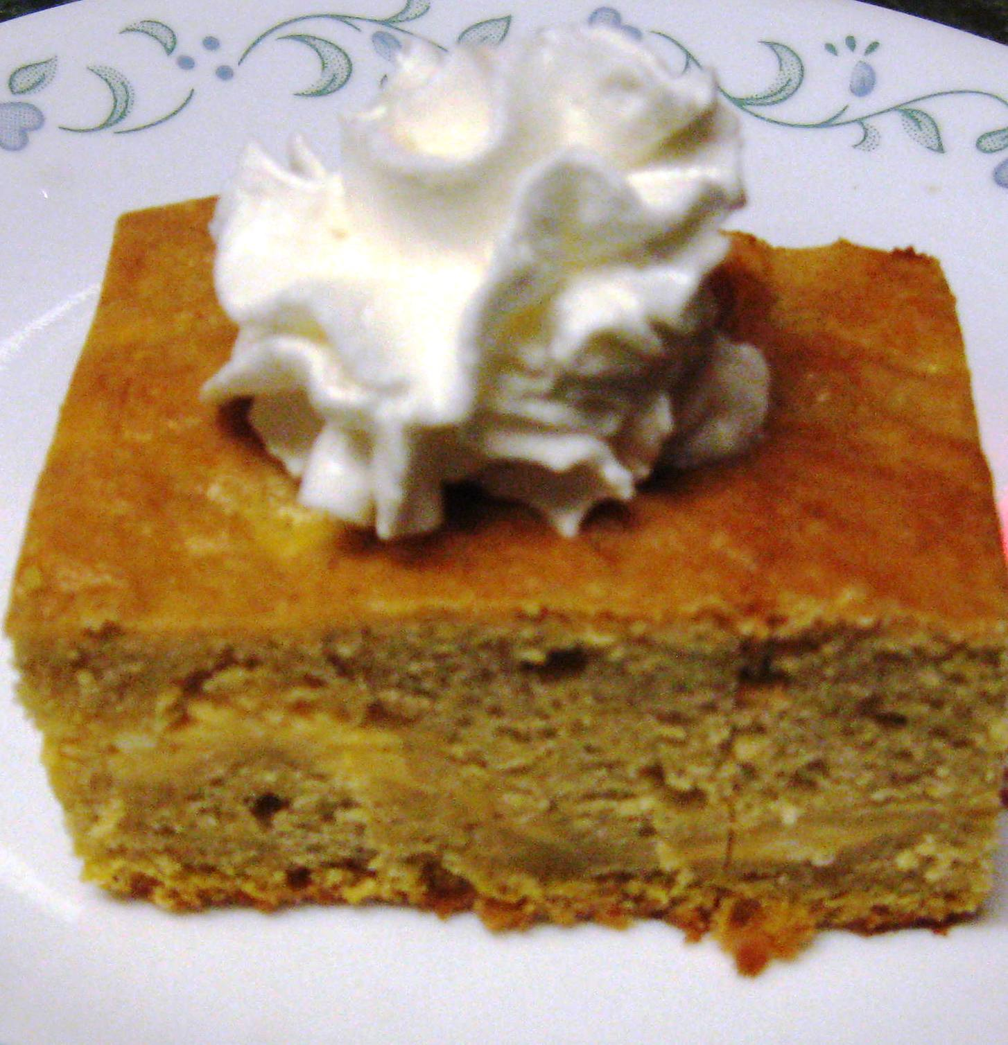 Debbi Does Dinner... Healthy & Low Calorie: Pumpkin Cheesecake Cake