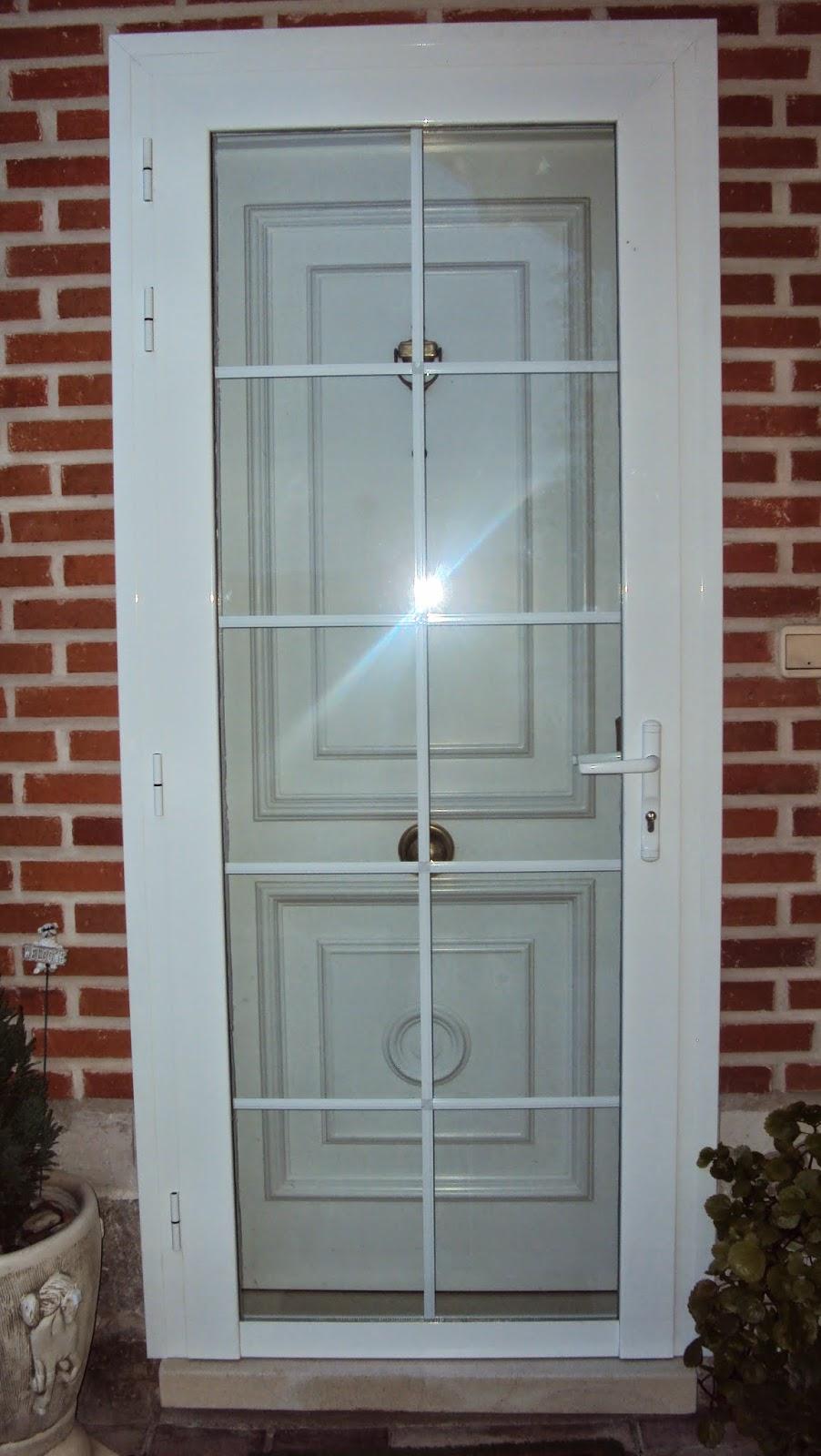 Aluminio y cerrajer a abel y cesar santiuste de san juan - Puerta balconera aluminio ...