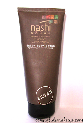 Review: Daily Body Cream - Nashi Argan