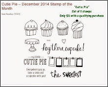 "The December Stamp of the Month is ""Cutie Pie"""